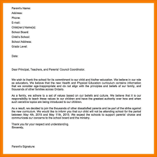 Child Absence Letter - April.onthemarch.co