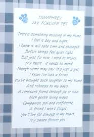 Sympathy Card Pet Loss Unique Personalised Sympathy Card For Loss Of A Pet Dog Cat Or Any