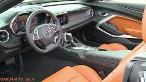 chevy camaro interior 2016.  Camaro Chevy Camaro 2016 Convertible INTERIOR Chevrolet Sixth Generation  Commercial CARJAM TV HD  YouTube With Interior R
