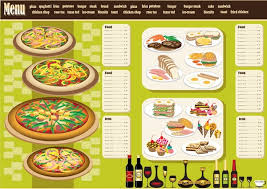 Restaurant Menu Design Templates Restaurant Menu Design Template Vector Free Vector In Encapsulated