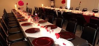 table centerpiece decoration idea for church valentine banquet ideas