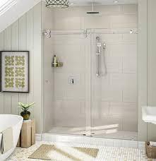 custom glass shower installation frameless shower