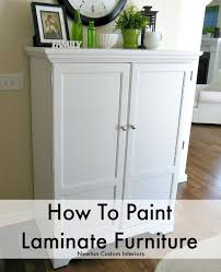 painting laminate furnitureHow To Paint Laminate Furniture  Newton Custom Interiors