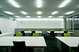 lighting for office space. lighting of main office space for p