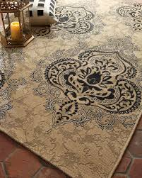 outdoor damask rug 5 3