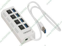 """Разветвитель USB3.0 <b>ORIENT</b> """"<b>BC</b>-<b>307N</b>"""" - купить в интернет ..."""