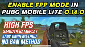 FPP MODE in Pubg Mobile Lite 0.14.0 ...