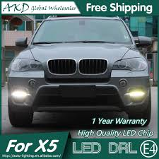 BMW 3 Series 2013 bmw x5 accessories : AKD Car Styling LED Fog Lamp for BMW X5 DRL 2011 2013 E70 LED ...