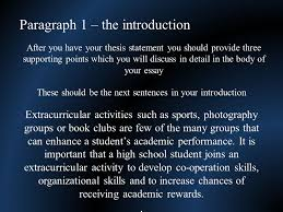 paragraph the introduction there is a minimum of four 3 paragraph