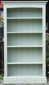 bookshelf furniture design. painted freestanding bookcase with fluted side pilasters and arched top shown here in farrow u0026 ball vert de terre bookshelf furniture design