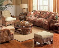 sunroom furniture set. Furniture. Exclusive Rattan Wicker Living Furniture Set With Tropical Floral Sofa Sheet Pattern Include Exotic Sunroom