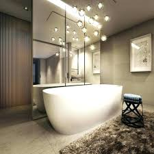 small bathroom chandelier elegance and glamour chandeliers ideas top modern images