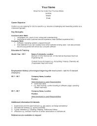 Cv Template Canada 2 Cv Template Sample Resume Resume Resume