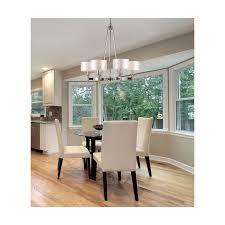 elk lighting 10123 6 pembroke polished nickel 6 light chandelier