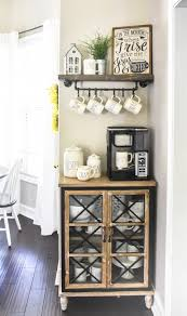 diy floating shelf and mug rack