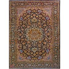 9 4 x 12 6 esfahan 100 natural wool hand knotted persian rug