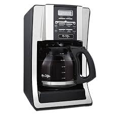 This part has been discontinued and is no longer available  more info  n/a mr. Mr Coffee 12 Cup Programmable Coffee Maker With Thermal Carafe Option Chrome Sale Coffee Makers Shop Buymorecoffee Com