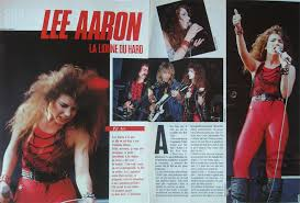 LEE AARON posters magazines articles