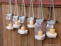 Picturesque Hanging Rope Backyard Outdoor Lighting Ideas And Diy Mason Jar  Candle Her Lanternlighting ...