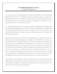 Elementary Essay Examples Biography Outline Sample Example Format Report Essay