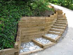 landscaping ties ideas design ideas decors within landscape timbers retaining wall durable landscape timbers retaining wall