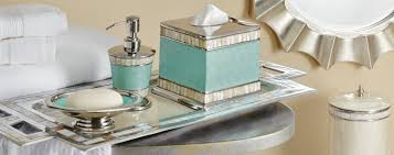 Small Picture Shop Luxury Bath Accessories Dispensers Tumblers and Tissues