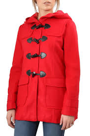 the closet hooded toggle peacoat front cropped image