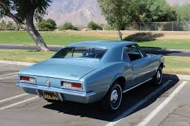 used 1967 chevrolet camaro palm springs ca