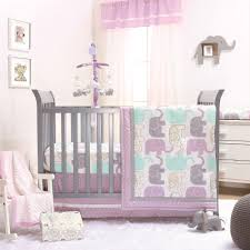 image is loading little peanut lilac gold elephant baby girl crib