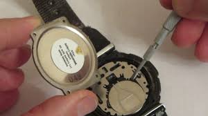 battery replacement wristwatches /замена батареи <b>часы CASIO</b> ...