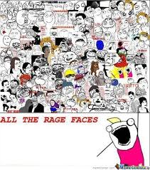 All The Rage Faces by ralph1906 - Meme Center via Relatably.com