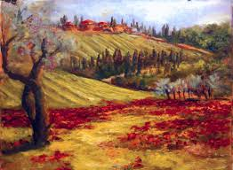 tuscany landscape oil painting demonstration part 2 by alessandro giambra you