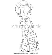 Small Picture Cartoon School Boy Stock Images Royalty Free Images Vectors