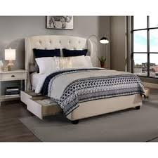 king bed with storage. Fine Storage Republic Design House Archer Fabric Upholstered Storage Bed With King L