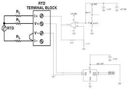 rtd wiring diagram 3 wire images rtd pt100 3 wire wiring diagramon 4 wire rtd sensors how work