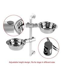 yosoo stainless steel dog bowl wall