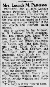 Lucinda Morton obituary - Newspapers.com