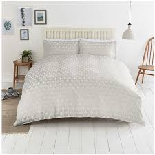 close image for sainsbury s home silver triangle jacquard bed linen from sainsbury s