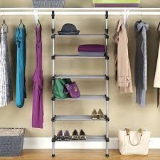 black closet space saving grey black closet black closet rod holder