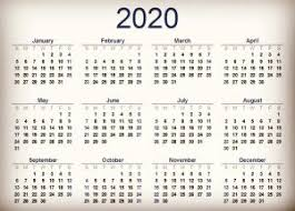 November 2020 Calendar Landscape Looking Ahead To 2020 Events For Planners Urbdezine Los