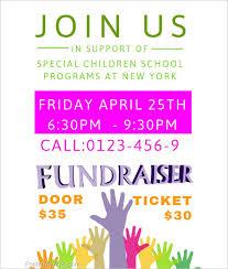 Template For A Fundraiser Flyer Customize 54 Fundraiser Flyer