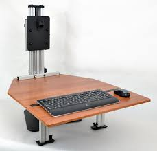 adjule height desk keyboard extension