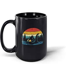 Mikey is voiced by john alexander. Amazon Com Tahotee Coffee Mug Taco Bigfoot Sasquatch Riding The Loch Ness Monster Gifts For Men Women 190924 15oz Black Mug Ows Kitchen Dining