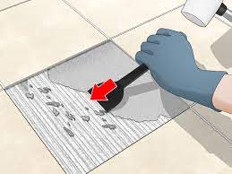 how to remove tile kitchen infinity