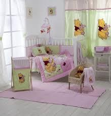 disney pink winnie the pooh baby bedding