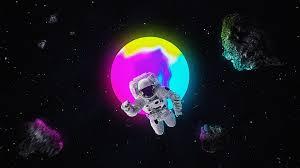 Neon Space Wallpapers - Wallpaper Cave
