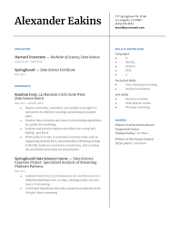 Design Your Own Resumes 7 Step Guide To Making Your Data Science Resume Stand Out