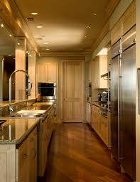 classic galley kitchen design