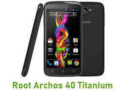 How To Root Archos 40 Titanium Android ...