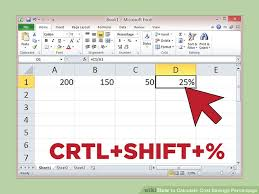 How To Calculate Cost Savings Percentage By Hand Or Using Excel